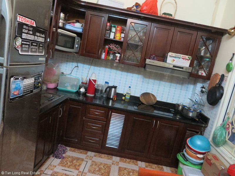 Fully furnished house for rent in Thai Ha street, Dong Da District 4