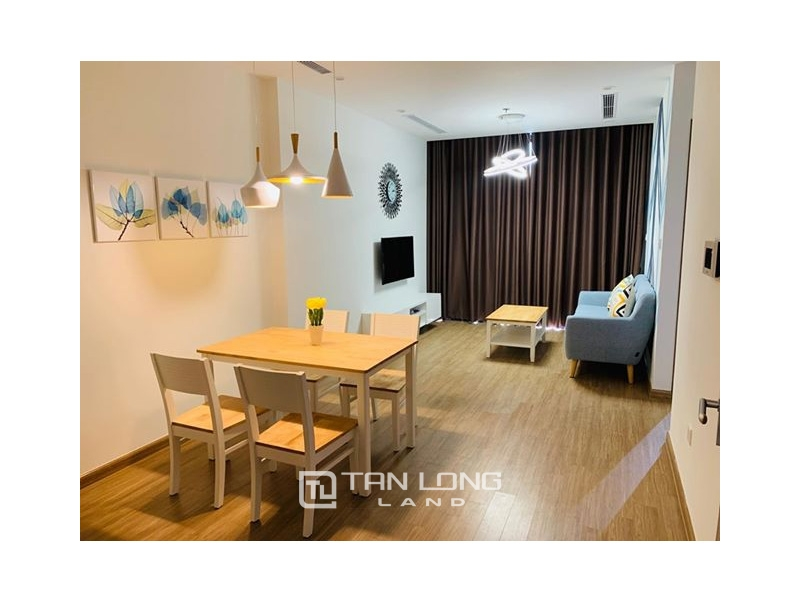 Fully Furnished One Bedroom Apartment to Rent in Vinhomes Skylake, City Views 1