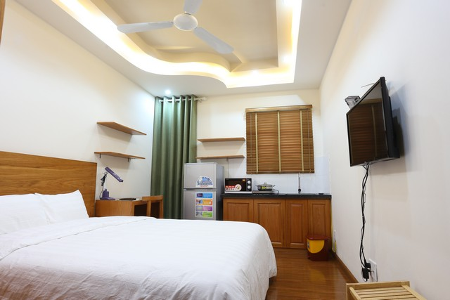 Fully furnished studio serviced apartment rental in Duy Tan, Cau Giay dist
