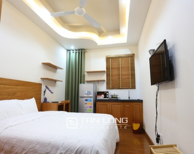Fully furnished studio serviced apartment rental in Duy Tan, Cau Giay dist 1