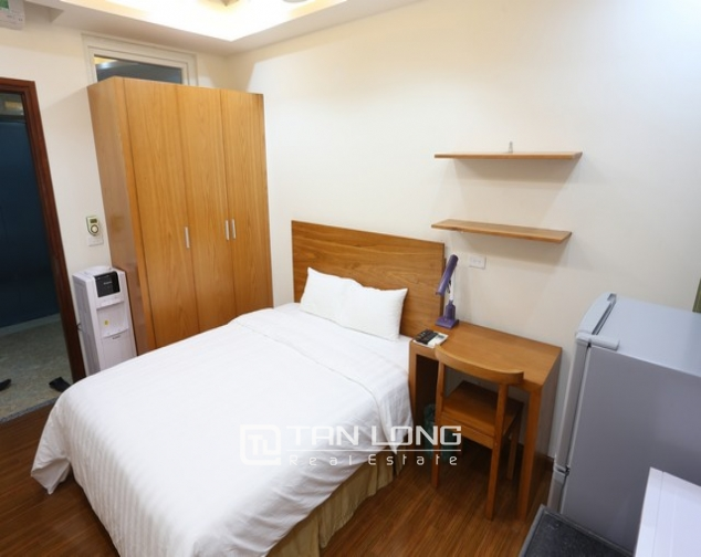 Fully furnished studio serviced apartment rental in Duy Tan, Cau Giay dist 4