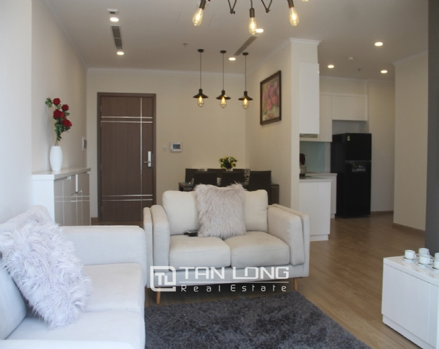 Furnished 3 bedroom apartment for rent in Vinhomes Gardenia, A1 buidling 1