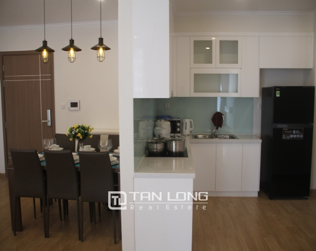Furnished 3 bedroom apartment for rent in Vinhomes Gardenia, A1 buidling 3