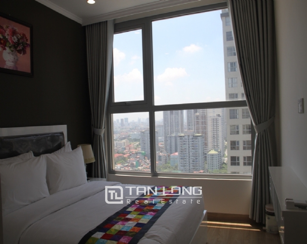 Furnished 3 bedroom apartment for rent in Vinhomes Gardenia, A1 buidling 5