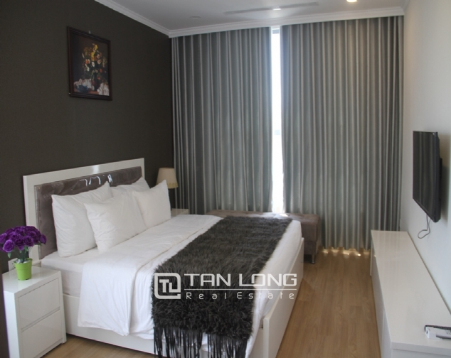 Furnished 3 bedroom apartment for rent in Vinhomes Gardenia, A1 buidling 6
