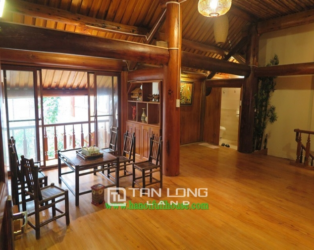 Garden house with 2 bedrooms for rent on Hoang Hoa Tham, Ba Dinh district 2