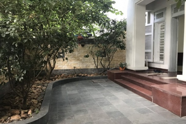 Gardening and fully furnished 4 bedroom villa for rent in G block Ciputra Tay Ho district