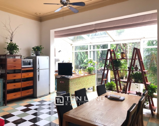 Gardening house for rent in Au Co, near Xuan Dieu str, Tay Ho distr! 5