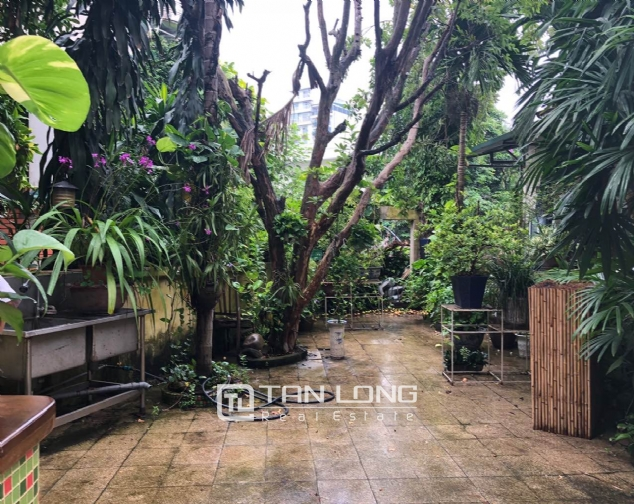 Gardening house for rent in Au Co, near Xuan Dieu str, Tay Ho distr! 6