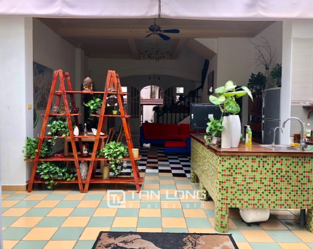 Gardening house for rent in Au Co, near Xuan Dieu str, Tay Ho distr! 7