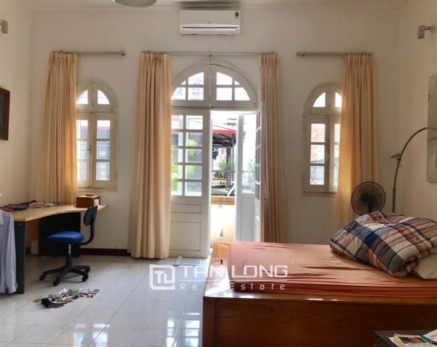 Gardening house for rent in Au Co, near Xuan Dieu str, Tay Ho distr! 1