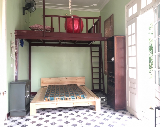 Gardening house for rent in Au Co, near Xuan Dieu str, Tay Ho distr! 4