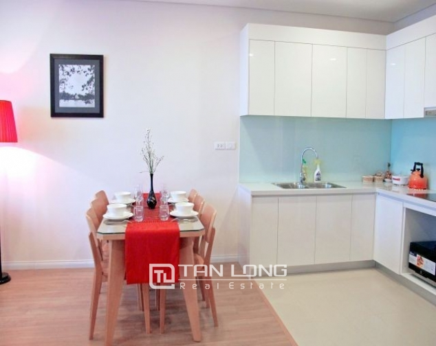 Glamorous and modern 2 bedroom apartment for rent in Mipec Riverside, Long Bien district 4