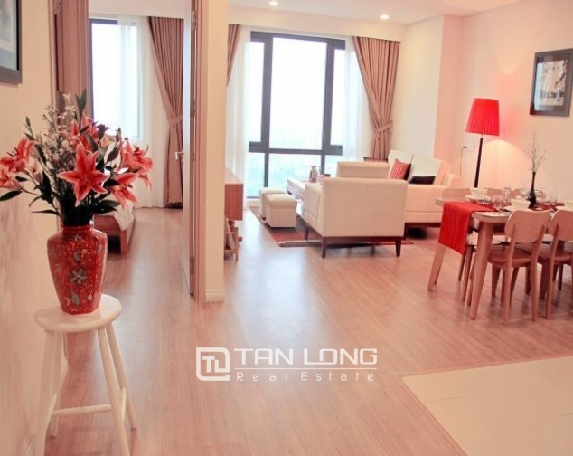Glamorous and modern 2 bedroom apartment for rent in Mipec Riverside, Long Bien district 6