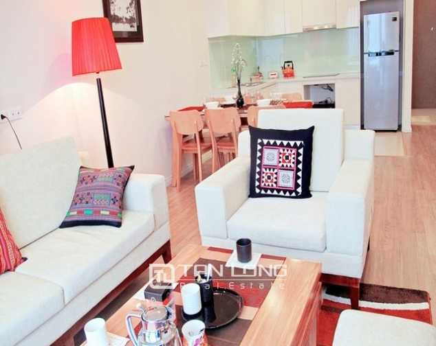 Glamorous apartment  in Mipec Riverside, Long Bien district, Hanoi for rent 6
