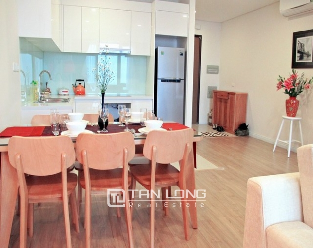 Glamorous apartment  in Mipec Riverside, Long Bien district, Hanoi for rent 2