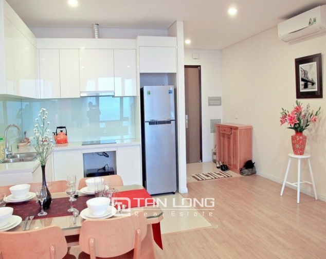 Glamorous apartment  in Mipec Riverside, Long Bien district, Hanoi for rent 3