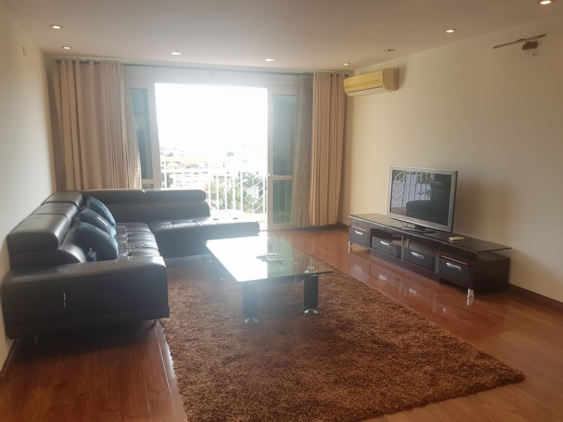 Glamorous full furnished 3 bedroom apartment for rent in G builing, Ciputra, Tay Ho district