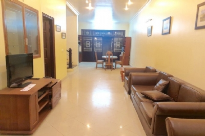 Good price and furnished 4 bedrooms villas for rent in C block Ciputra urban area