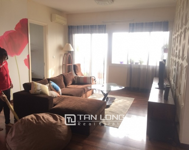 Gorgeous and modern 3 bedroom apartment for rent in E1 Ciputra, Tay Ho, Ha Noi 1