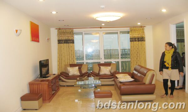 Hanoi Ciputra apartment for rent, P2 building