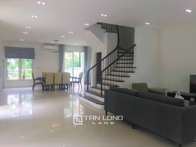 Hanoi Furnished 4 Bedrooms Villa To Lease In Vinhomes Riverside 3
