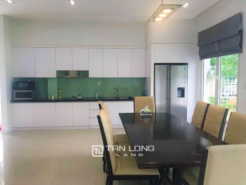 Hanoi Furnished 4 Bedrooms Villa To Lease In Vinhomes Riverside 16