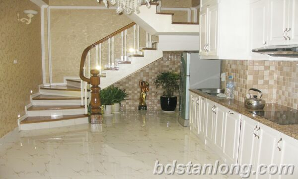Hanoi house for rent in Nguyen Hoang Ton street, Tay Ho dist