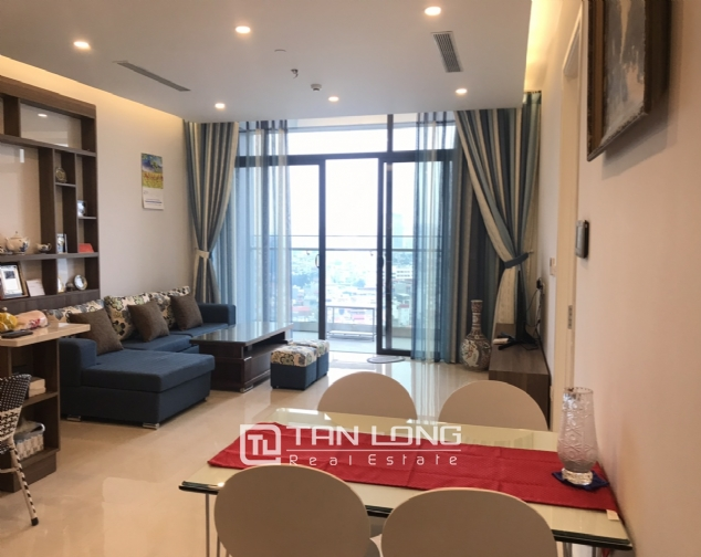 High end 2 bedroom apartment for rent in Sun Grand Thuy Khue 2