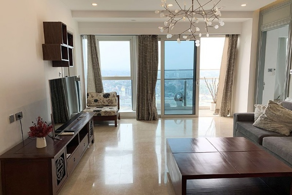 High floor apartment for rent in L2 Tower Ciputra Nam Thang Long