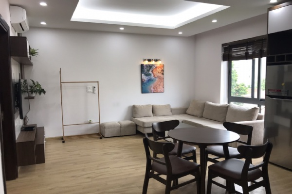 High floor service apartment for rent in Tay Ho street, Tay ho district