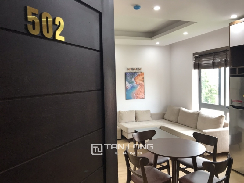 High floor service apartment for rent in Tay Ho street, Tay ho district 2