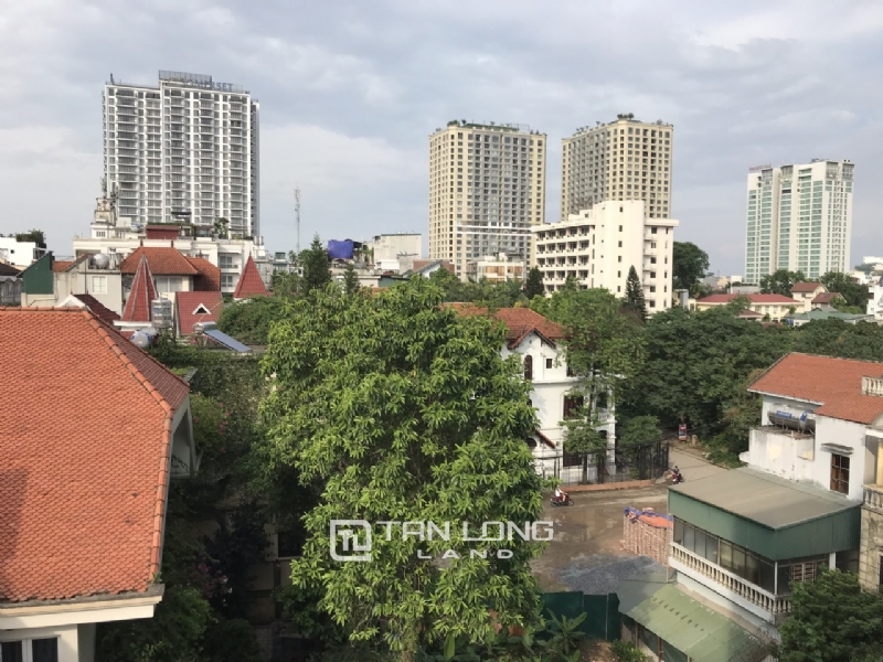 High floor service apartment for rent in Tay Ho street, Tay ho district 8