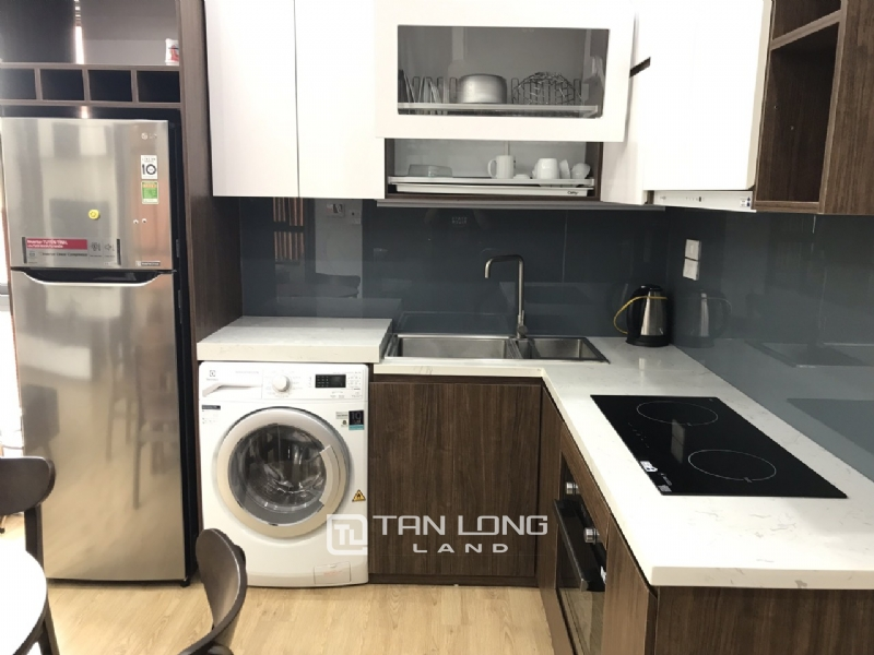 High floor service apartment for rent in Tay Ho street, Tay ho district 11