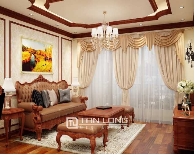 High level apartment for rent in De Le Roi Soleil Quang An 1
