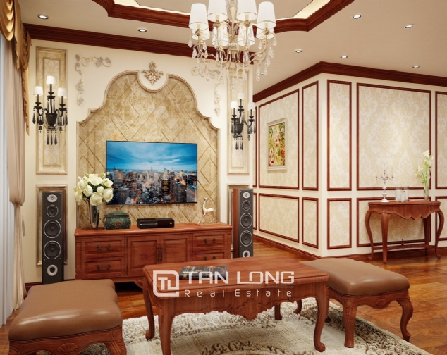 High level apartment for rent in De Le Roi Soleil Quang An 3