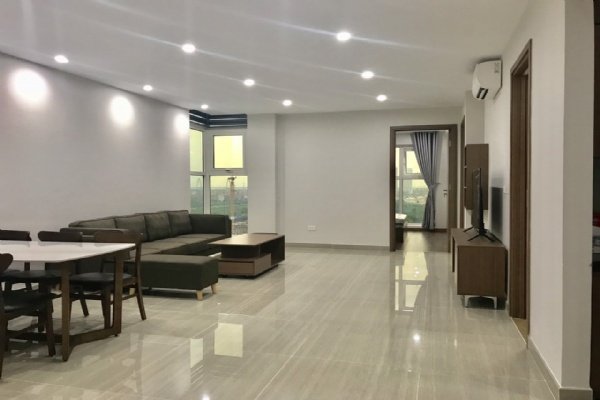 Golf view and high quality  furnished 3 bedroom apartment for rent in L4 The Link Ciputra