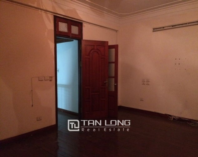 House to rent in Tran Duy Hung lane, 5 storeys 4