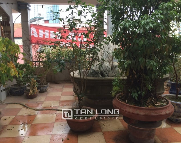 House to rent in Tran Duy Hung lane, 5 storeys 7