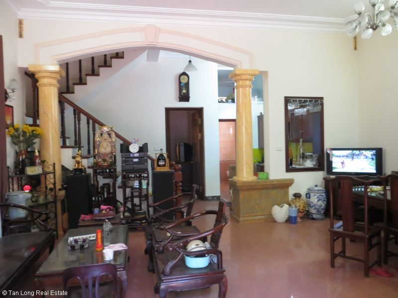 House with garden for rent in Bo De, Long Bien dist, Hanoi 5