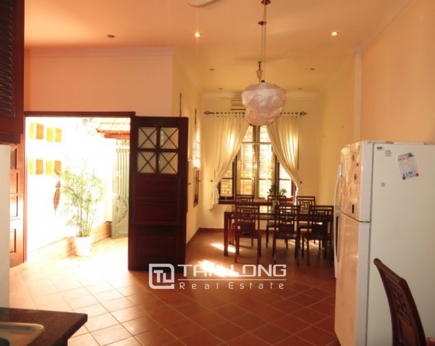 House with small yard for rent in To Ngoc Van str, Tay Ho dist, HN 6