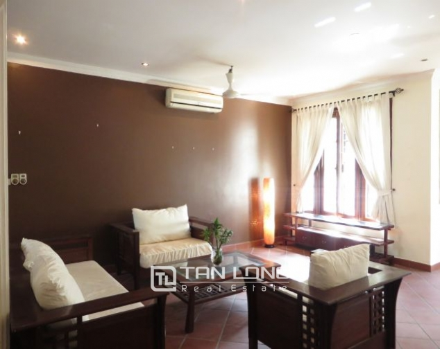 House with small yard for rent in To Ngoc Van str, Tay Ho dist, HN 1