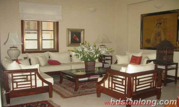 House with swimming pool in Tay Ho for rent 7