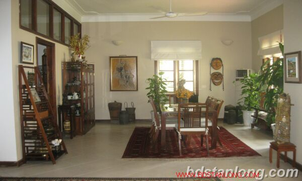 House with swimming pool in Tay Ho for rent 9