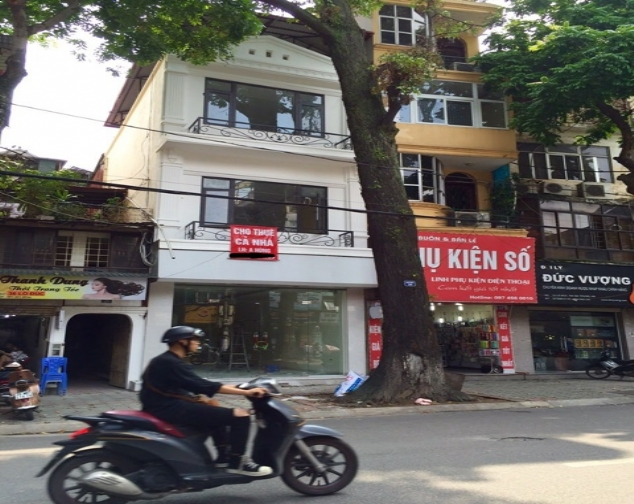 Houses for rent on Lo Duc street, Hai Ba Trung with 80m2/ floor x 3 floors 1