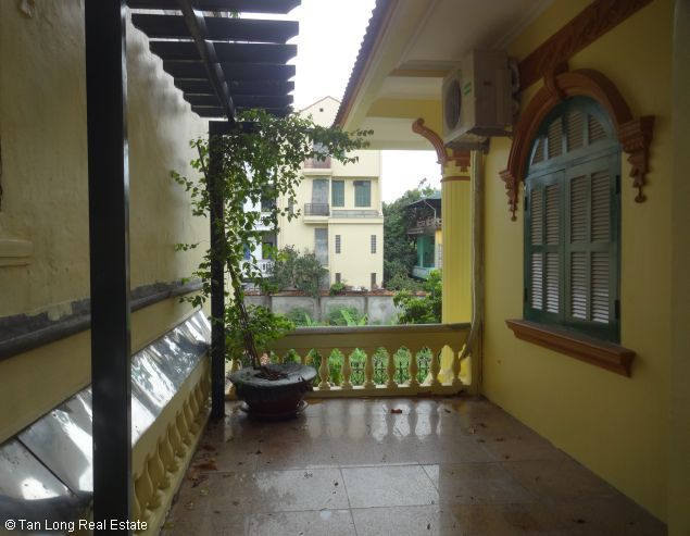 Huge house with large courtgard for lease in Au Co Westlake Hanoi 7