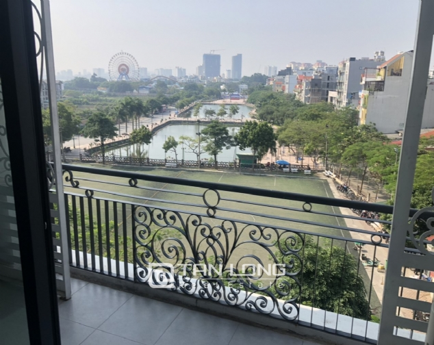 Lake view 2 bedroom apartment for lease in Trinh Cong Son str, Tay Ho distr 4