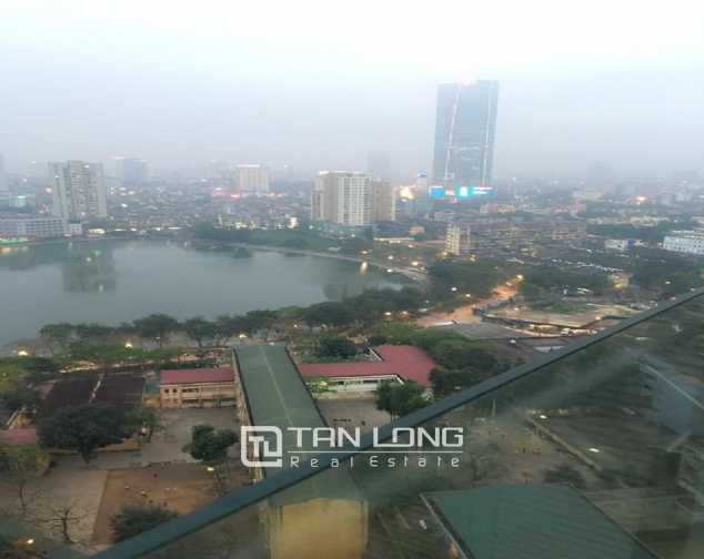 Lake view Studio serviced apartment in Lancaster, Ba Dinh district for rent 1