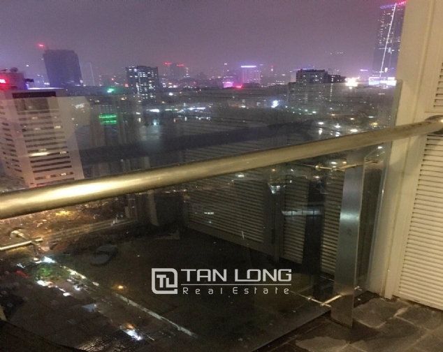 Lake view Studio serviced apartment in Lancaster, Ba Dinh district for rent 2
