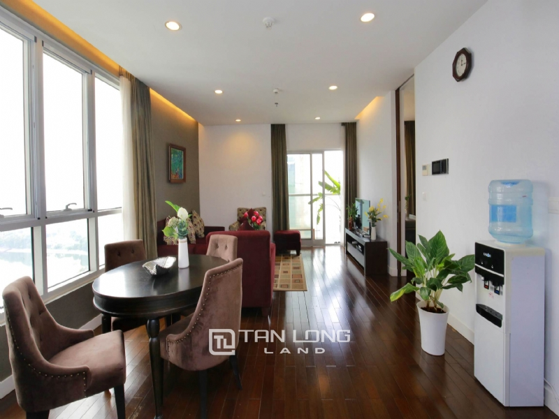 LAKEVIEW 2 BEDROOM APARTMENT FOR RENT ON 19F LANCASTER HANOI 1